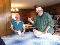 Chinook Lutheran Church aiming for 170 quilts for World Relief