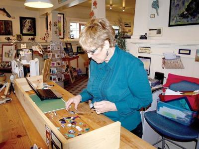 Barbara Lester teaches the love of glass