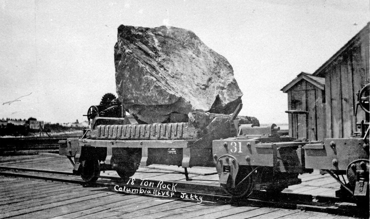Jetty rock 1907