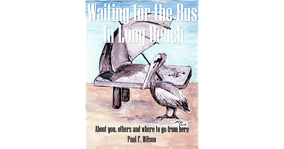 'Waiting for the Bus in Long Beach'