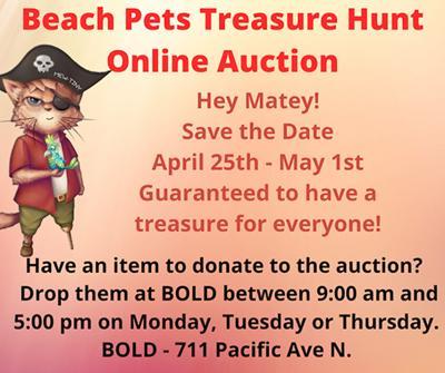 Beach Pets Treasure Hunt