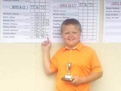Blake Kukula wins WJGA district title