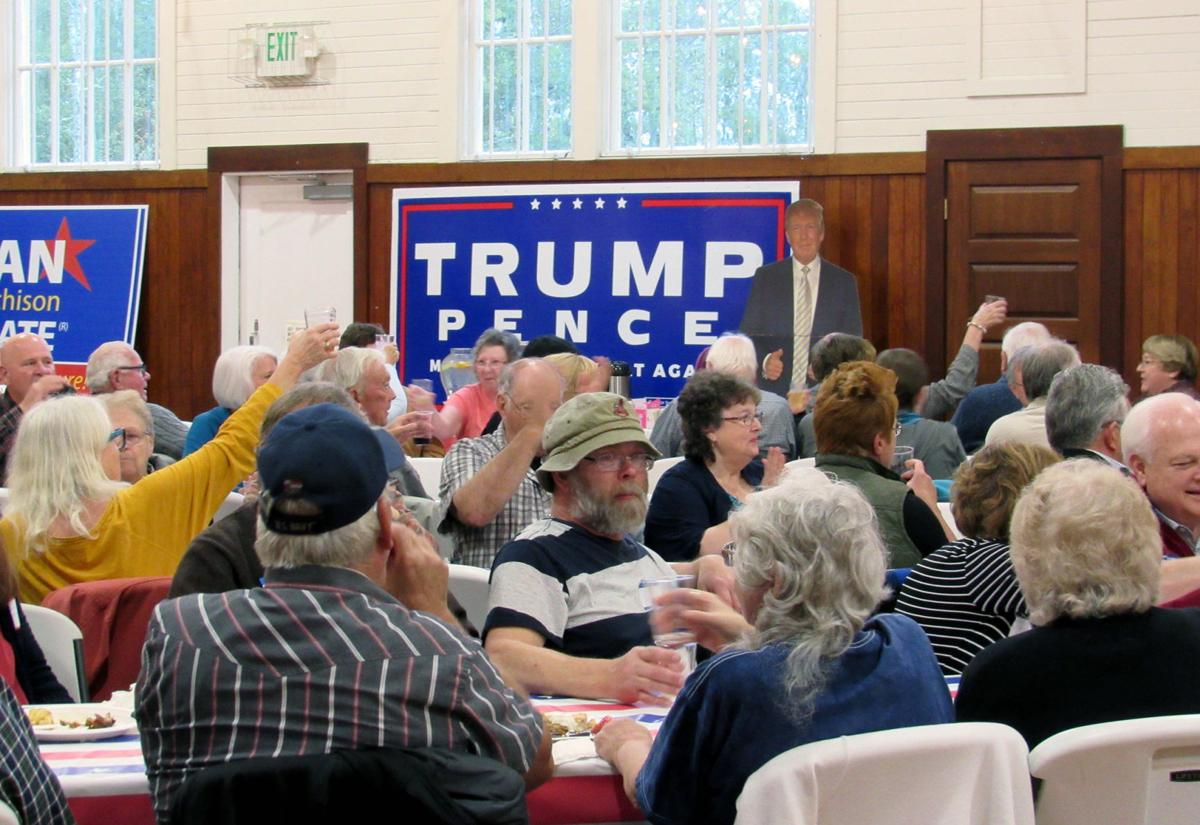 Republicans, conservatives gather to learn about candidates
