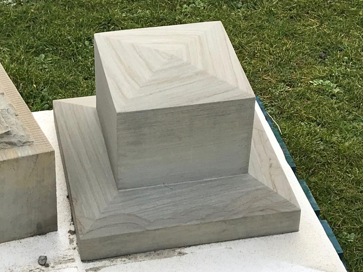 North Head Lighthouse restoration stone