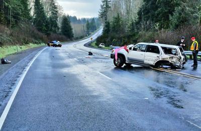 Long Beach man dies in Christmas Eve wreck on icy Oregon Hwy 30
