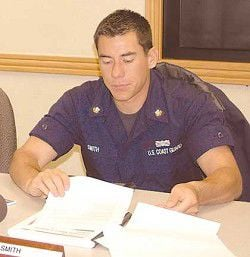 U.S. Coast Guard's Taylor Smith: Quiet strength at the helm