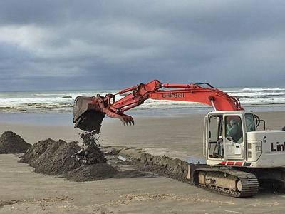 Coast Chronicles:  Sand, glorious sand