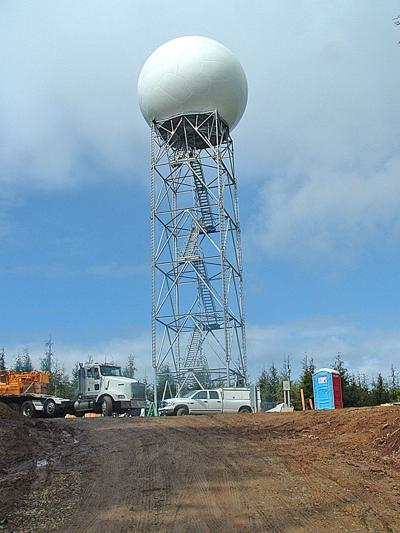 Another Doppler radar is needed on West Coast