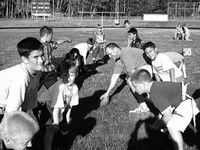 Thirty-six potential football players complete Naselle football camp