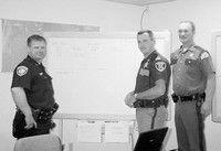 Ten dozen officers keep the peace on busy weekend