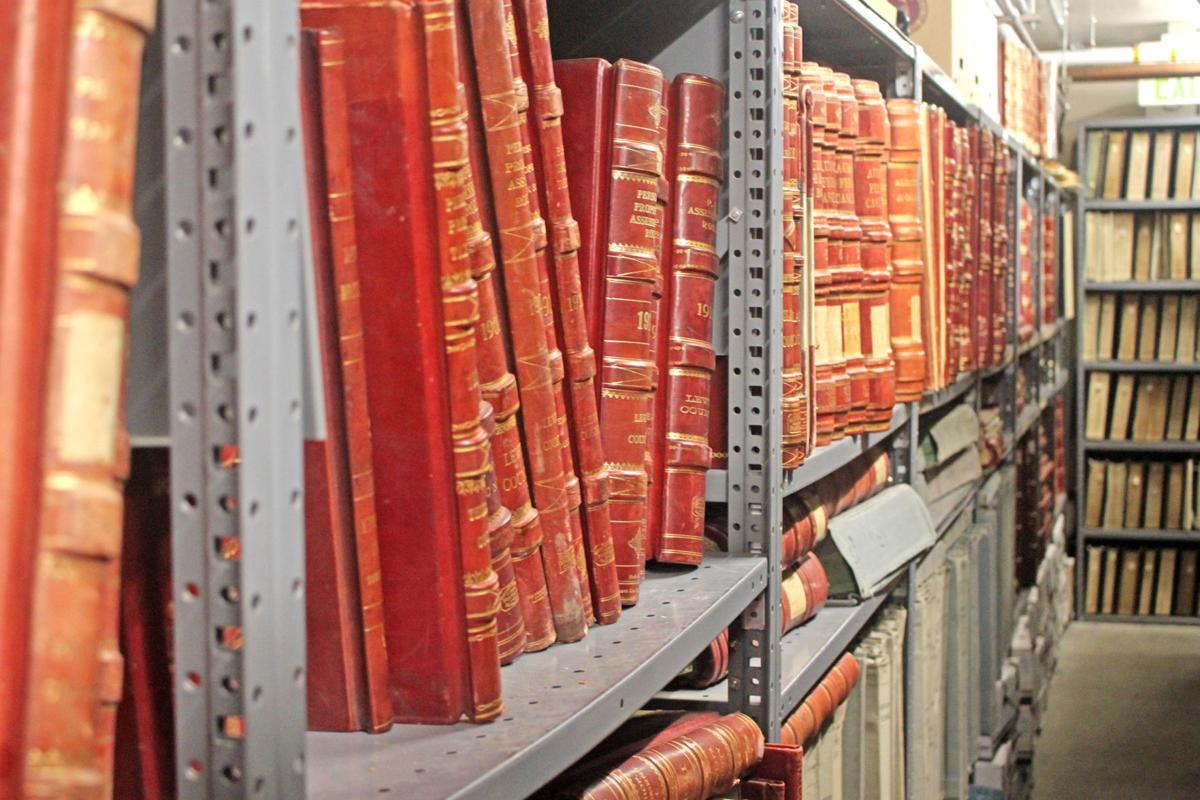 State archive shelves