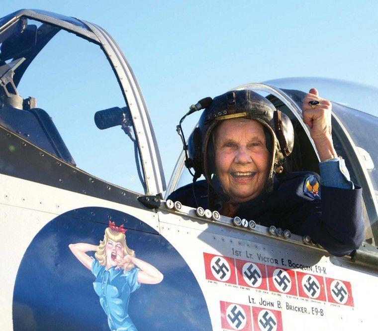 Congressional medal winner still flying high at 94
