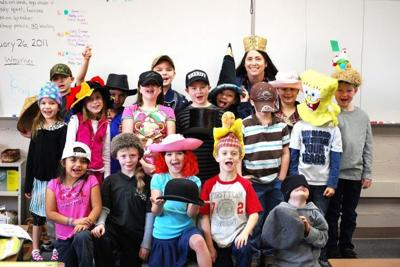 Naselle celebrates Fun Hat Day