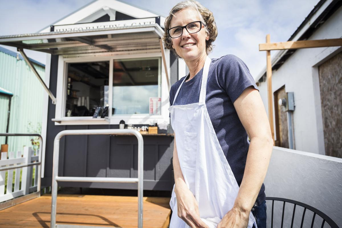 Valerie Perkins opened Ilwaco Bakery & Cafe at 235 Howerton Ave. SE at the Port of Ilwaco in late May