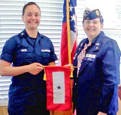 Amanda Green honored by American Legion
