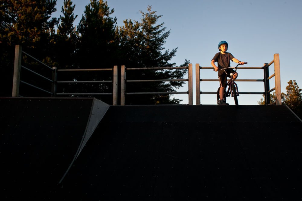 Skate park out of sight and out  of mind