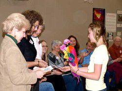 OP School honors its volunteers