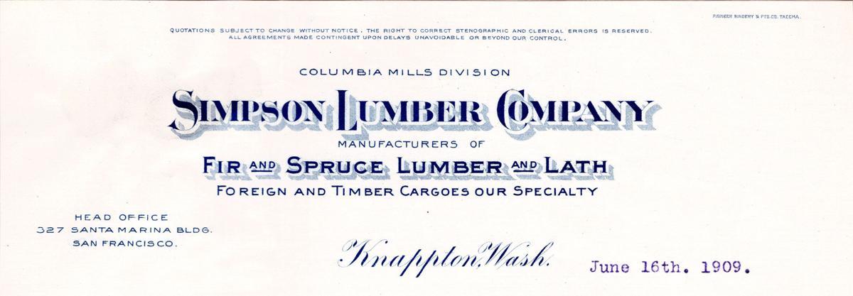 Simpson letterhead