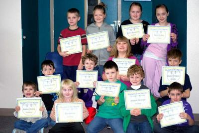 Naselle honors students of the month