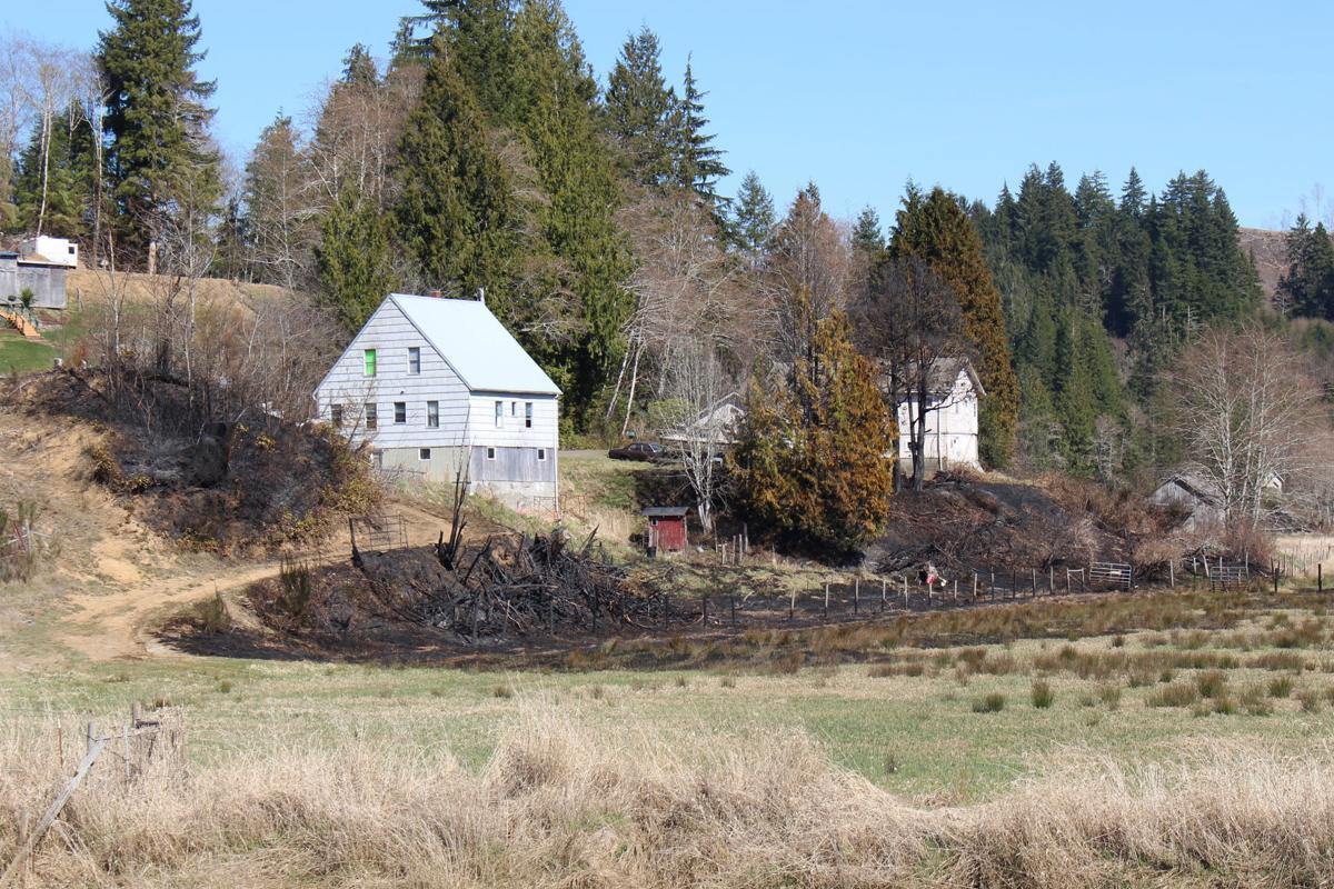 Deep River fire