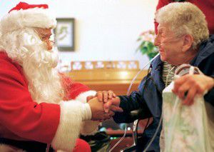 Silver-trimmed Harley delivers Xmas cheer