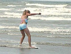 Teens have close brush with drowning