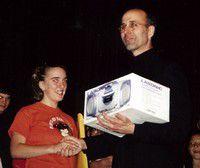 Fund-raiser winner Dawnielle Childers