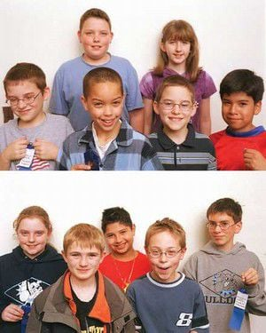 Fifth-grade science fair winners