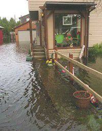 Heavy storms bring flooding throughout Peninsula
