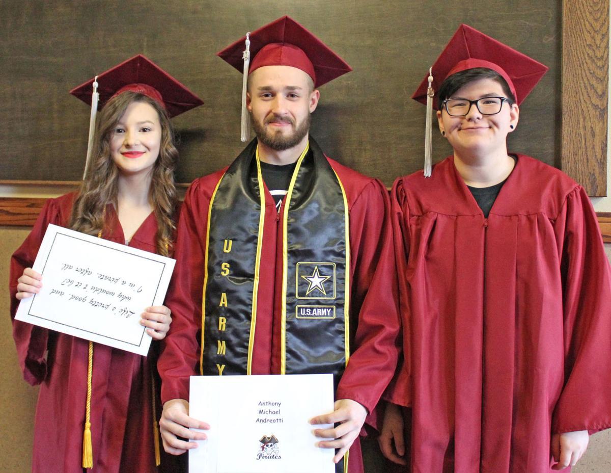Ocean Beach Alternative School Class of 2019 graduates