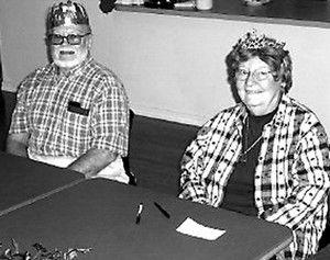 J.T. Hilt and Betty Worthington are November's ice cream social royalty