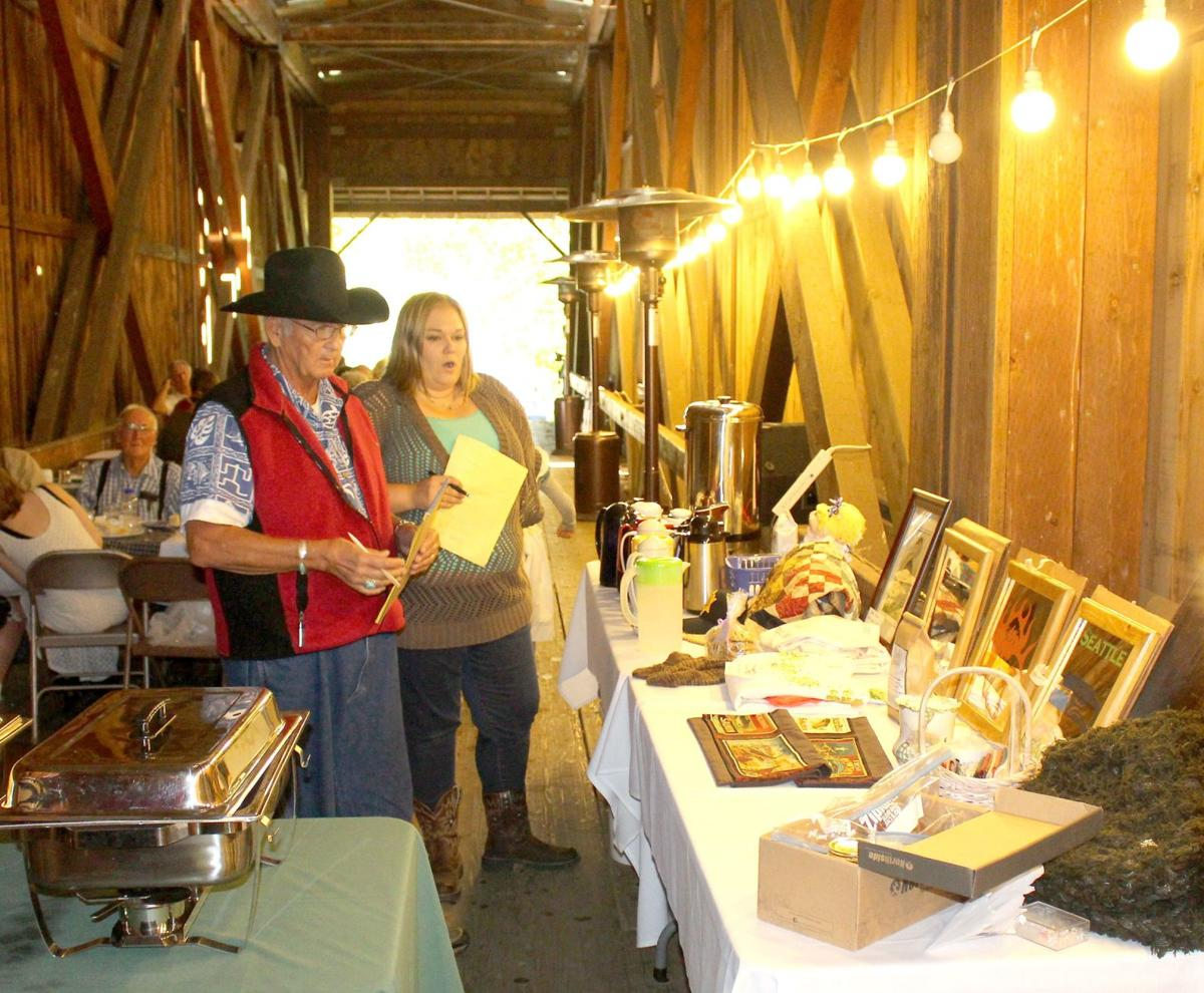 Neighbors come together for  Grays River Covered Bridge Dinner