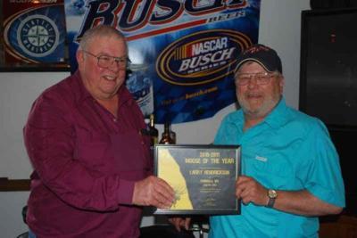 Larry Hendrickson is Moose of the Year