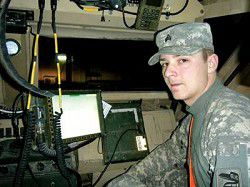 LOCAL RESERVIST LEARNS THE ABCs OF WAR IN IRAQ