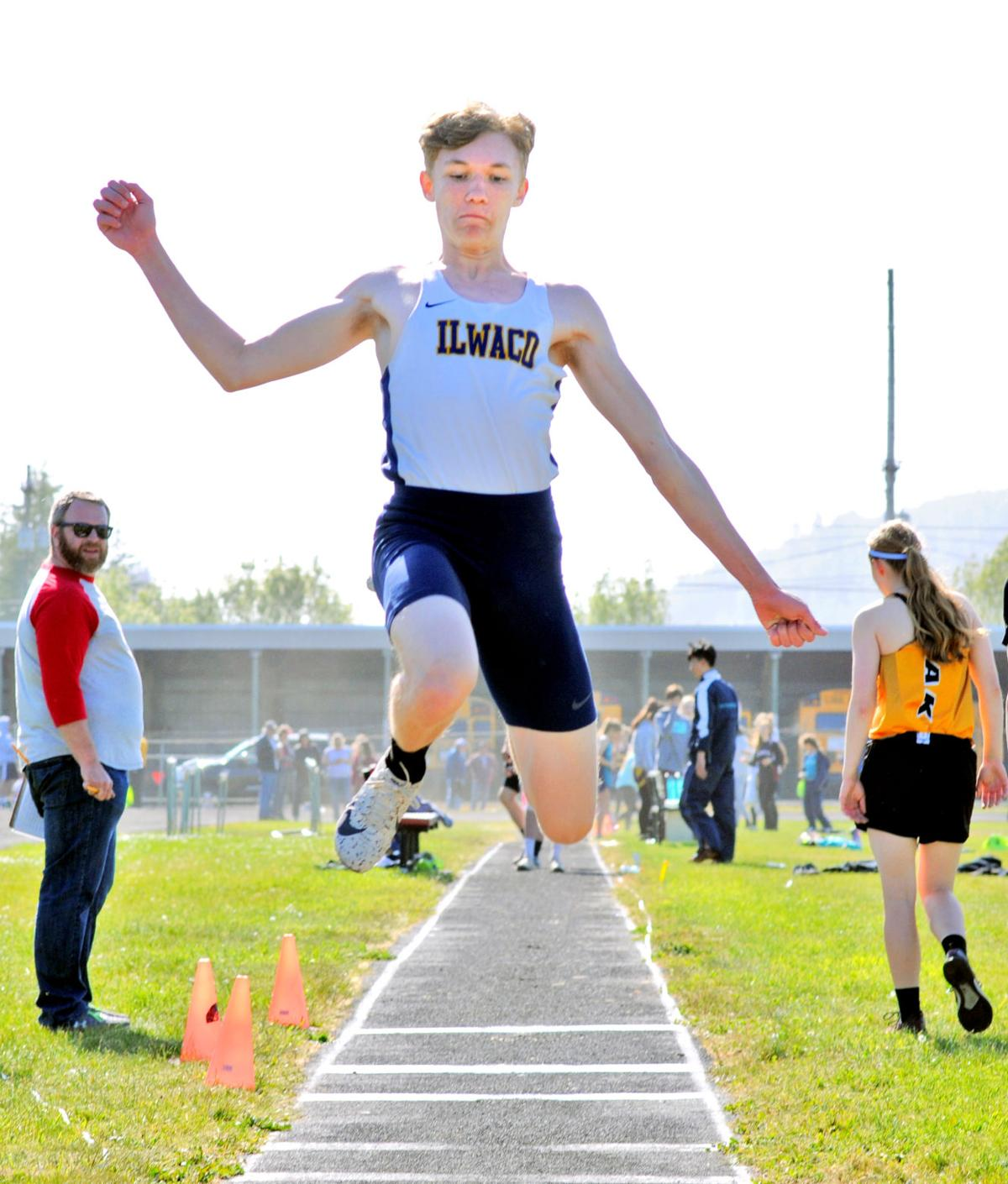 IHS track Brandon Kuhn