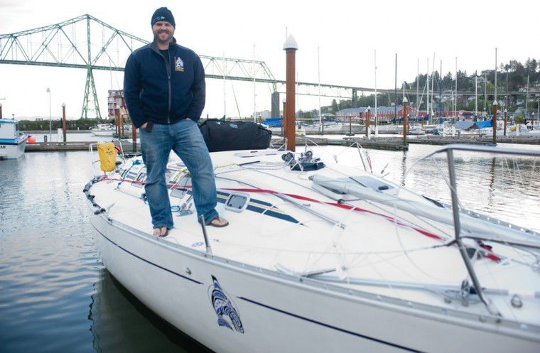 Breaching whale hits sailboat west of Columbia River bar
