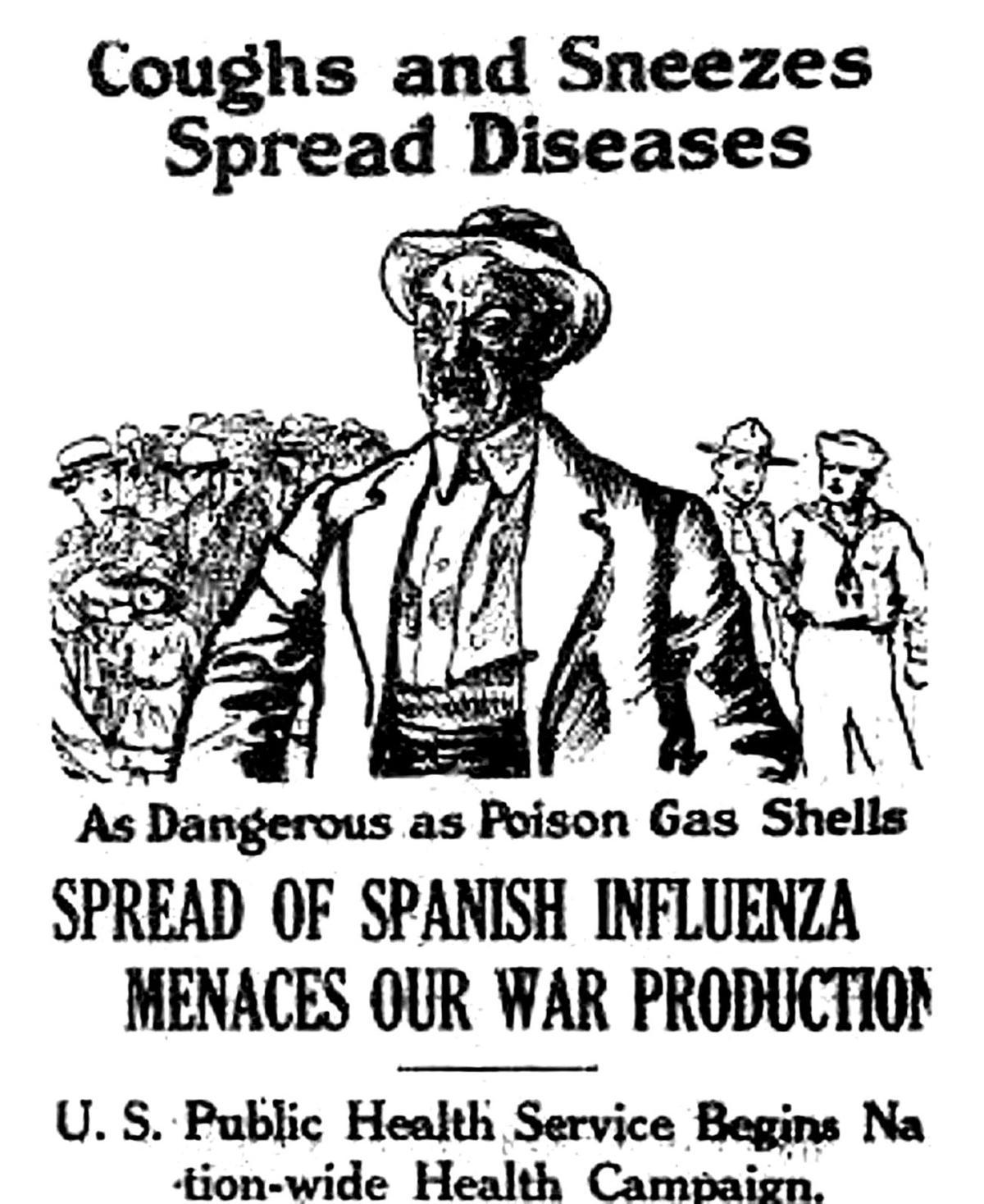 Deadly siege: 1918 flu slammed Pacific County