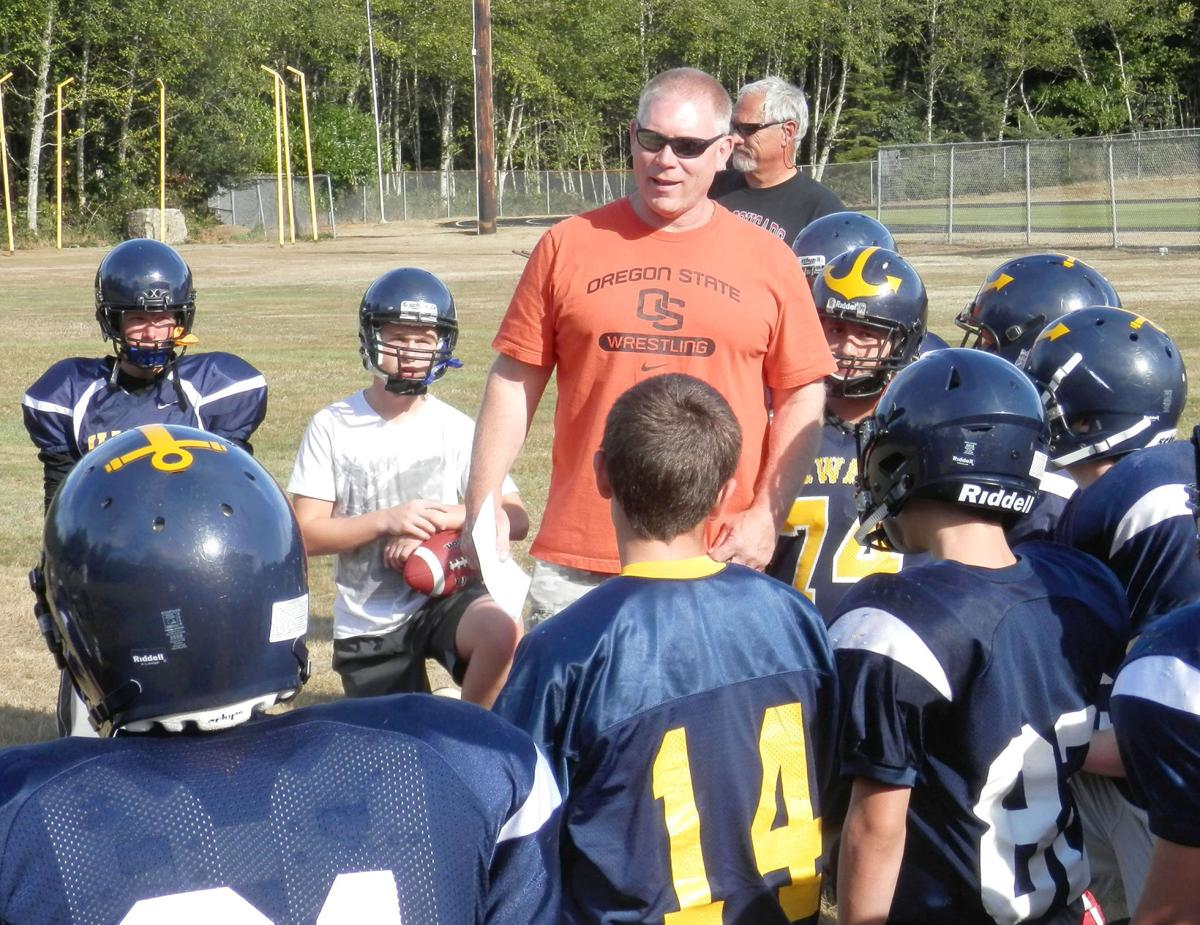 Making memories, learning lessons Ilwaco and Naselle coaches motivate athletes for two reasons