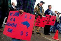 Fishing families rally against West Coast salmon policies