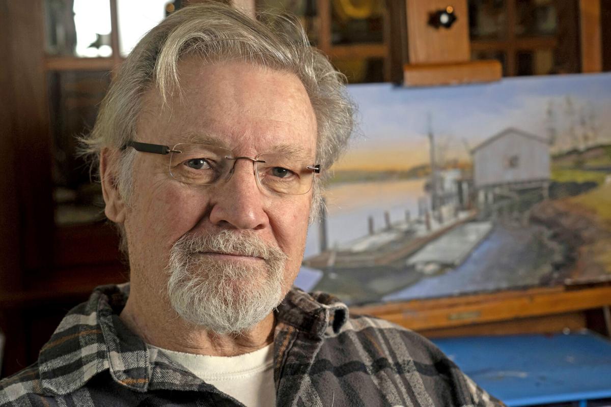 Bay Center artist Ron Pulliam