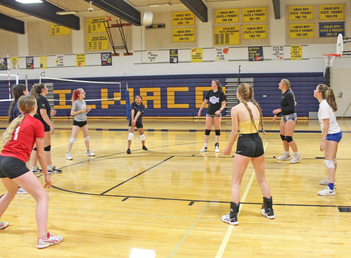 IHS volleyball workout