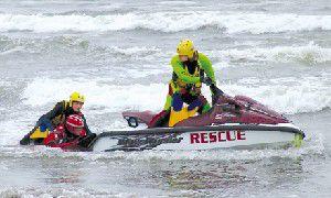 Surprise emergency helps rescue agencies train