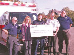 Fire District No. 1 uses hefty grant for first-rate ambulance