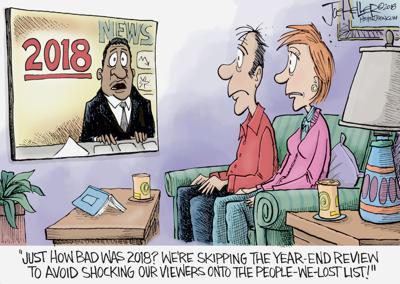 Editorial cartoon for Dec  26, 2018 | Opinion