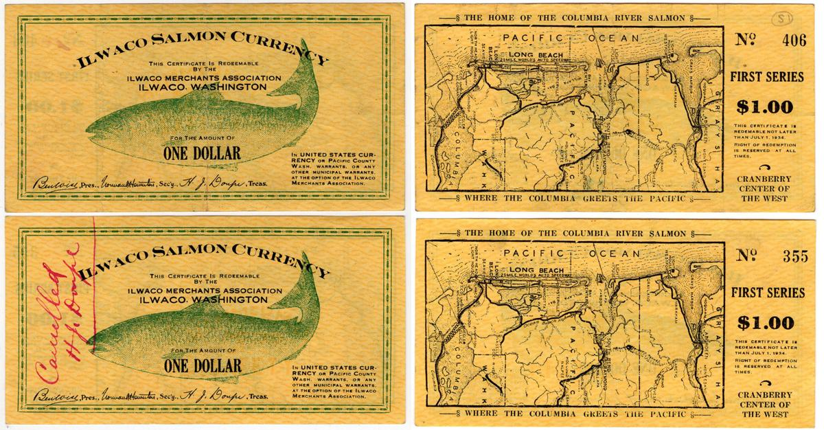 A look back 85 years at Ilwaco Salmon Currency