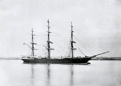 Fernglen wrecked on Clatsop Spit 1881