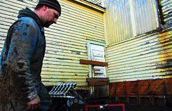 Work begins to restore Chinook School gymnasium