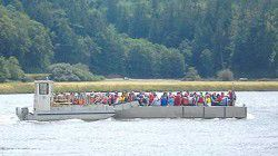 Friends of Willapa NWR conquer Long Island with hike and BBQ