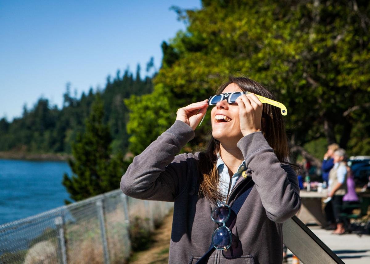 Dark party Coast 'perfect place at the perfect time' for solar eclipse