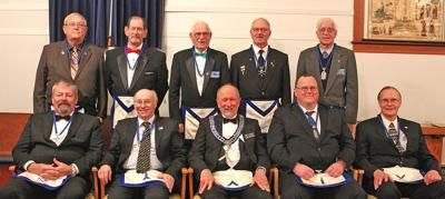 Ilwaco Masons install officers for 2018